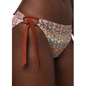 Prana Audrey Bikini Broekje Dames, roze/wit